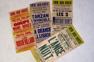 Le Plateau 25, Nantes : Son histoire, affiches de cinéma.