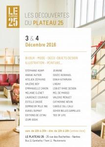 Les Découvertes du Plateau 25 - 2ème édition