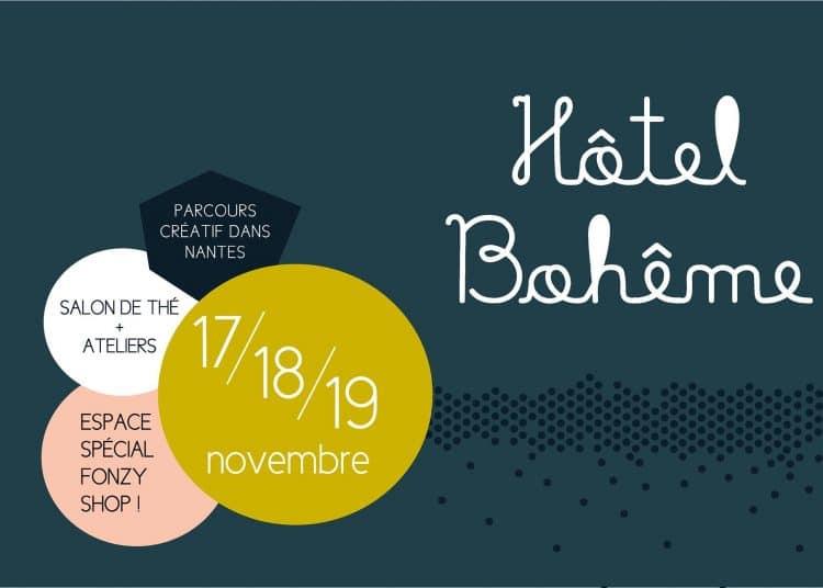 Hotel Boheme, Le Plateau 25, vente, créateurs, 17 18 19 novembre