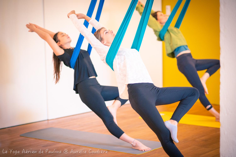 Yoga aérien 1
